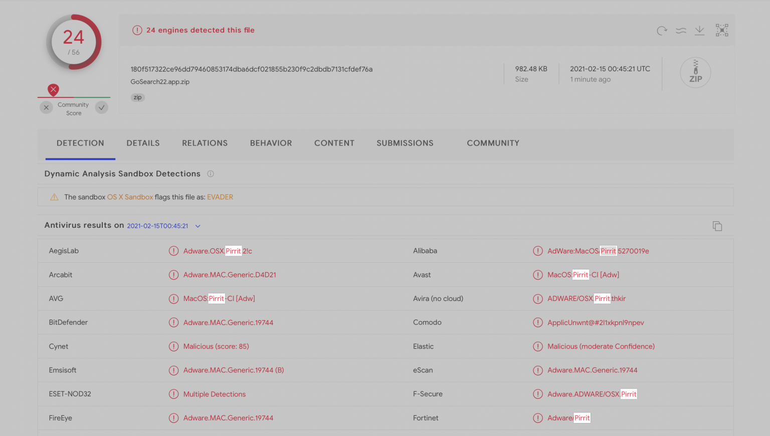 Encontrado el primer programa malicioso que bloquea el dispositivo M1 de Apple
