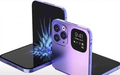 Primer vistazo al iPhone plegable (iPhone Flip)